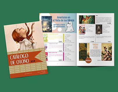 Proyecto Catalogo editorial ficticio