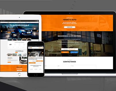 Hexa - CP3 Concesionaria - Car Retail - Web Design