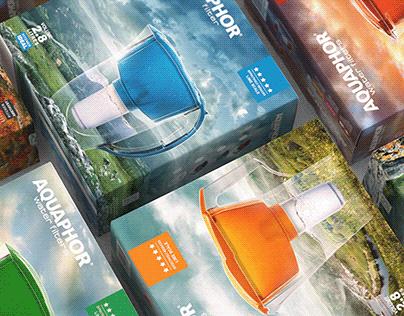 Aquaphor - Package Design