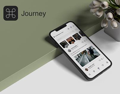 Концепт мобильного приложения Journey