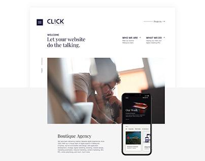Click Creative Website