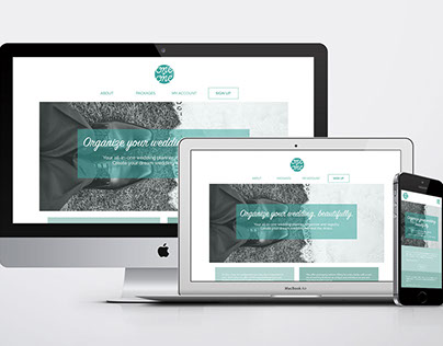 One + One Wedding Planning SAAS Website (WIP)