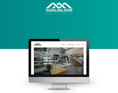 Adalıcam Web UI Design