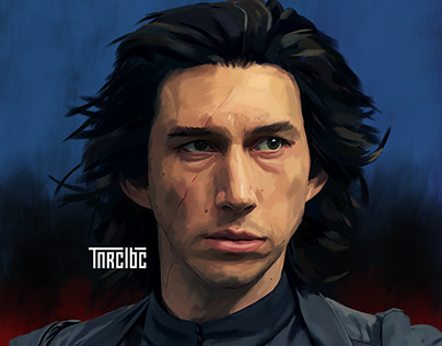 Star Wars, Kylo Ren illustration
