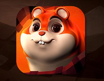 Faster Hamster - game art