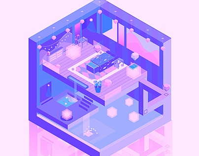 Deckard's Room Isometric