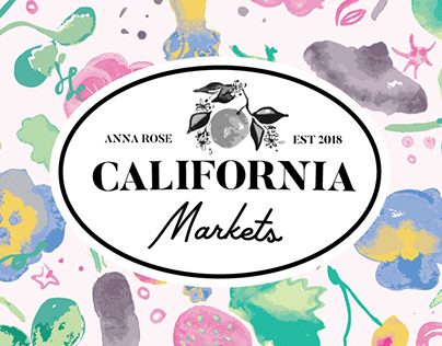 California Markets Surface Pattern Collection