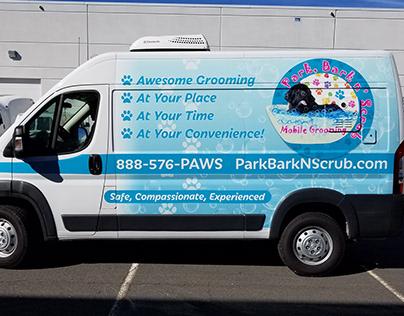 Park, Bark n' Scrub Partial Wrap