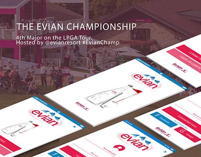 THE EVIAN CHAMPIONSHIP| Mobile App