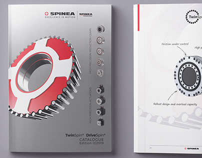 New catalogue for SPINEA, s.r.o.