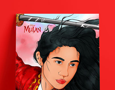 MULAN - Poster Design (illustration)