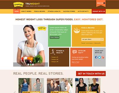 Truweight | Website & Dashboard Design