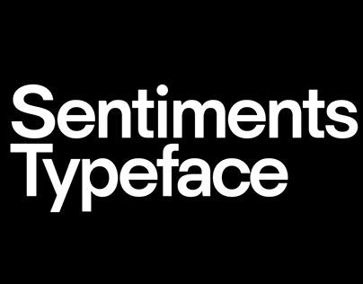 HK Sentiments Typeface
