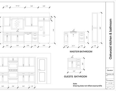 Shop drawing for numerous project's
