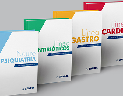 Medicine manuals serie - Editorial and illustration
