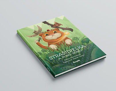 Strašidielka a Bubo-bubo / Children book