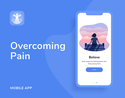 Overcoming Pain — Mobile App