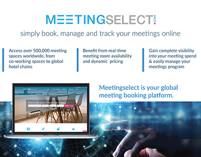 Meetingselect exhibition banner - CES 2020