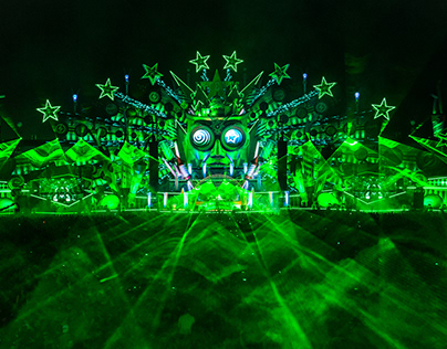 Stage Design - Intents Festival 2018 MainStage