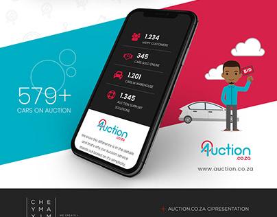 Auction.co.za Corporate Identity