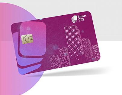 SmartCity Card 2 Logo Design Concept
