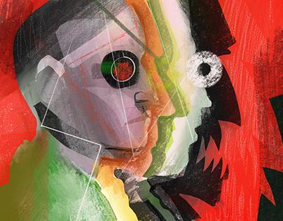 Split Illustration