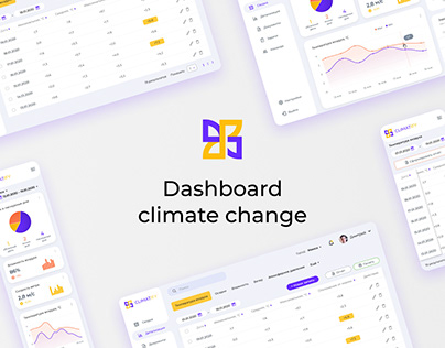 Dashboard. Сlimate change