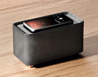 Wireless Charging & Speaker