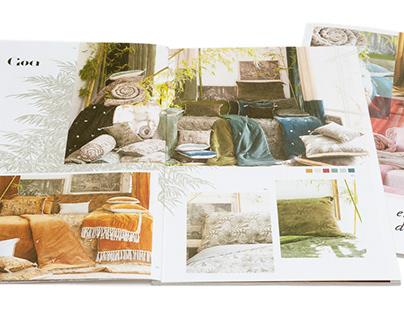 Catalogue en fil, d'Indienne...