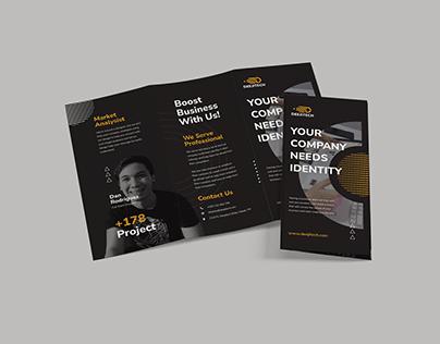 Deejitech Creatives Tri-Fold Brochure Design