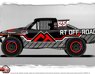 RT OFF-ROAD Lucas Oil Truck Livery by RPM-3D, Inc.