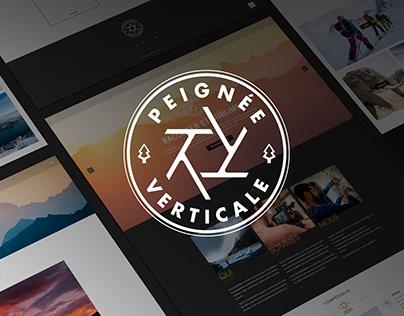 Peignée Verticale - Refonte site web