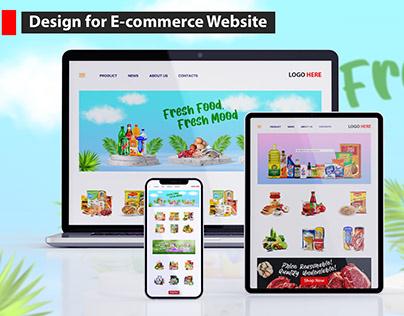 Design for E-commerce Website | E-commerce Graphics