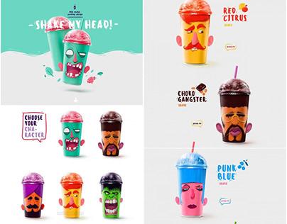 Creative Package Design Fruit Juice