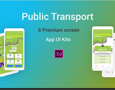 Public Transport - App UI Kit