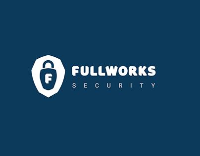 Fullworks Security brand: Logo & CVI