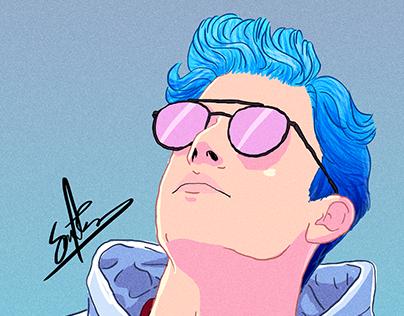 Color Boy: Blue