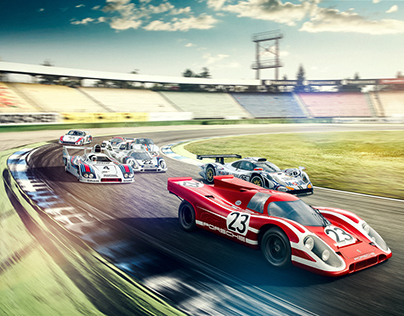 Famous Porsche classic winners of 24 Hours of Le Mans