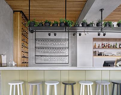 Wine's Bar Interior