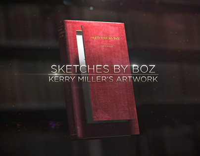 Sketches by Boz - Kerry Miller's sculptures