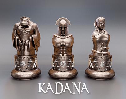 Development & Modeling board game KADANA