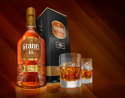 Grants Whisky Product Shots