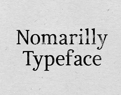 Nomarili Typeface