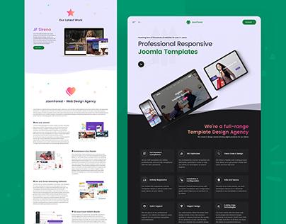 JoomForest.com Redesign