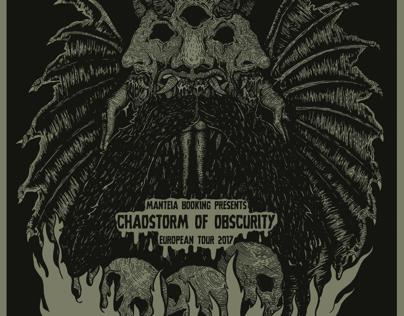 Hellsodomy ,engulfed  gig poster