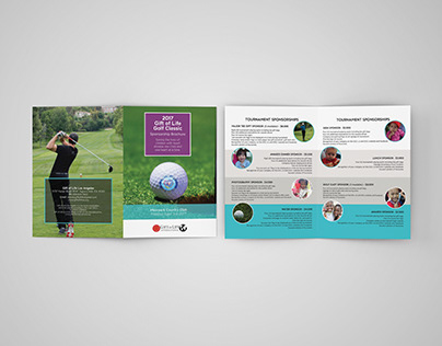 Gift of Life, LA: Brochure Design