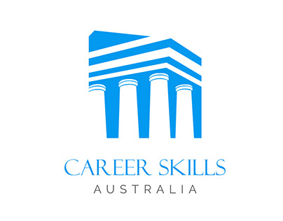 Career Skill Austrailia | Logo Design Concept