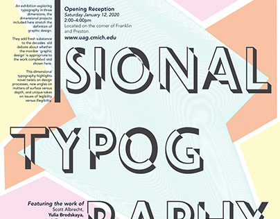 Dimensional Typography