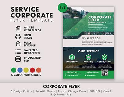 Service Corporate Flyer