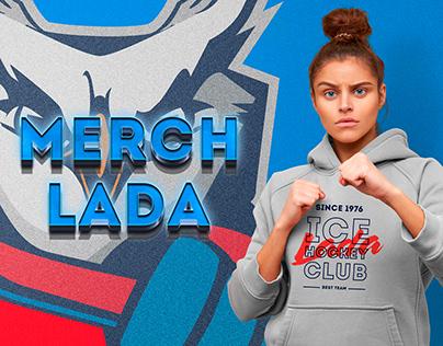 Мерч для магазина хоккейного клуба Лада Тольятти